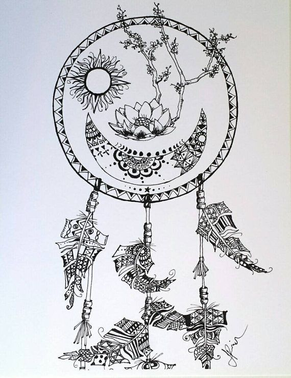 trippy moon art - Google Search | Doodles and Designs | Pinterest