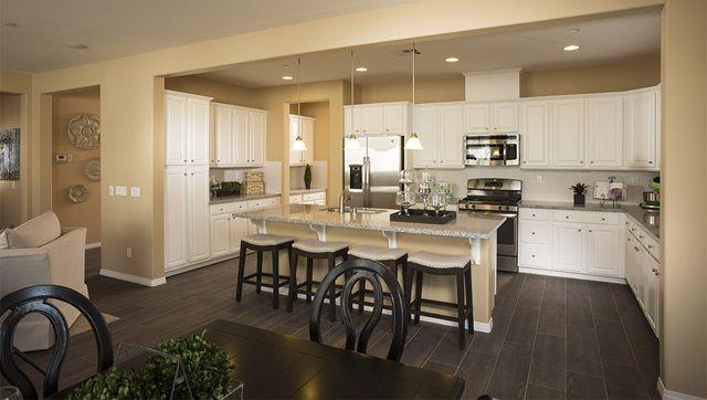 New Homes In Meadowlark At Village Green Bakersfield California Home Kitchen Design Kitchen Floor Plan