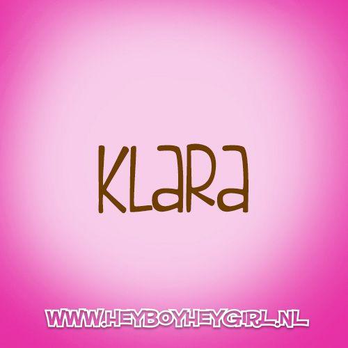 Klara (Voor meer inspiratie, en unieke geboortekaartjes kijk op www.heyboyheygirl.nl)