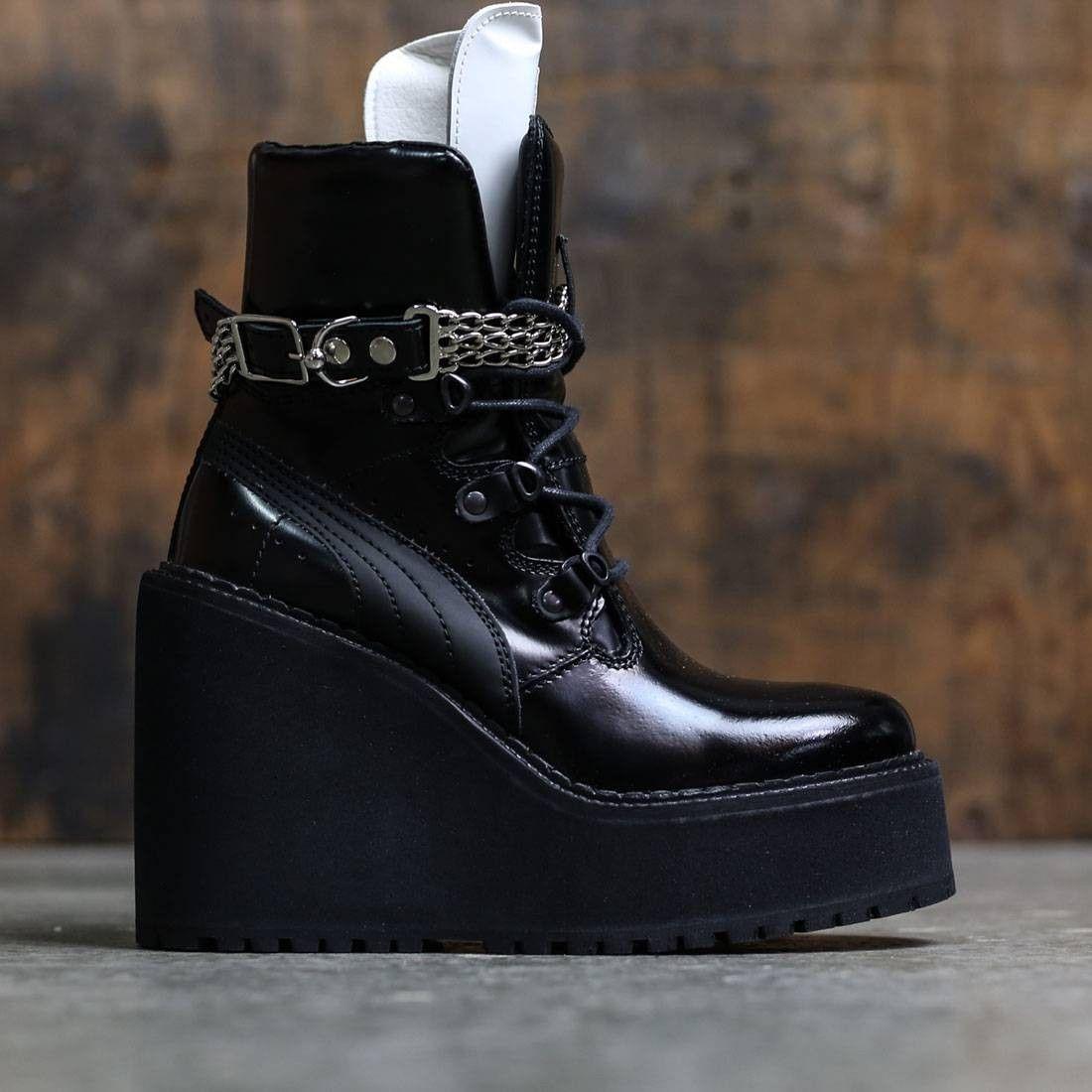 725dcc1af12 Shoe · Sock · Puma x Fenty By Rihanna Women SB Wedge (black)