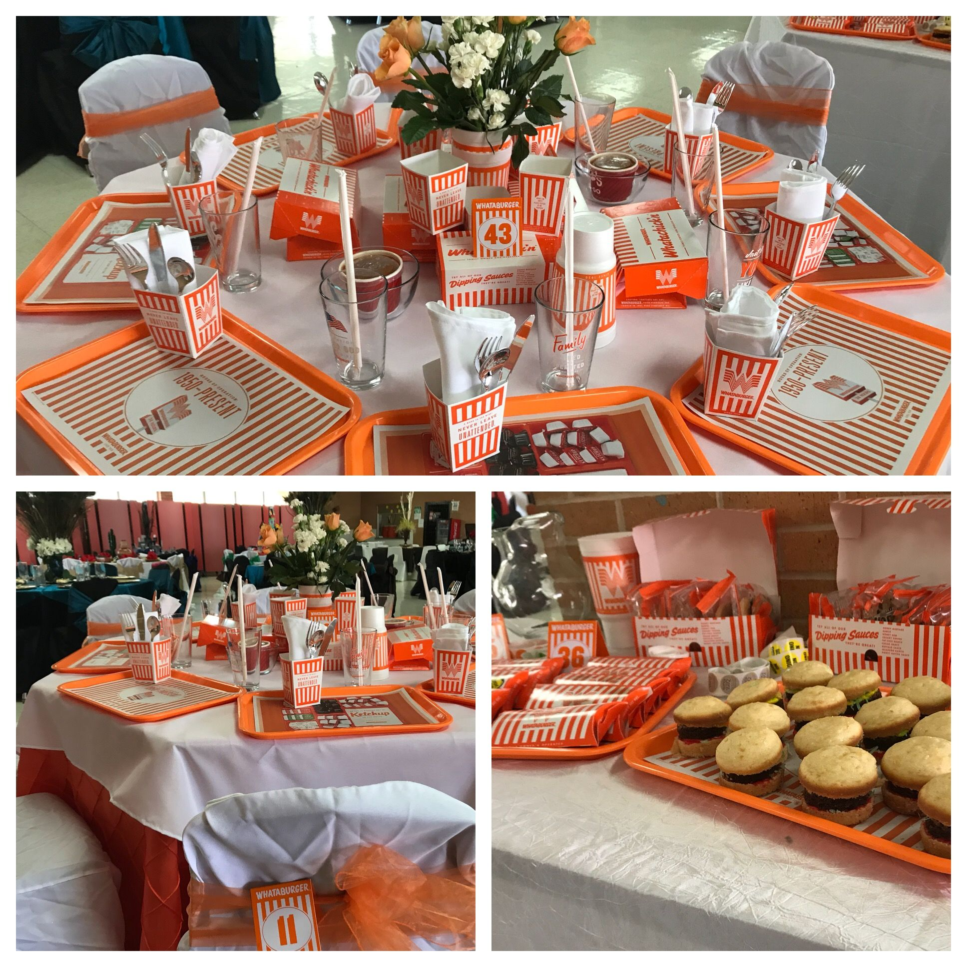 Whataburger Table Dinner Theater Table Party Table Senior