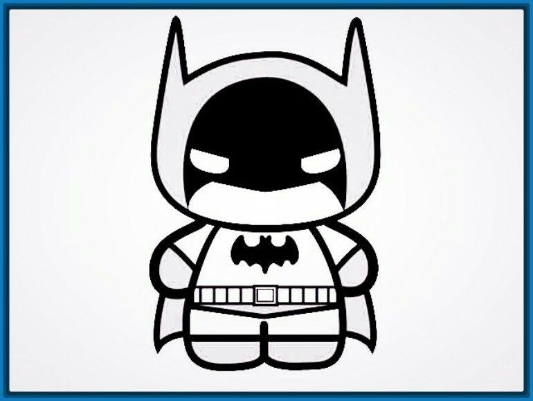 Dibujos De Batman Para Colorear E Imprimir Fondos De Pantalla