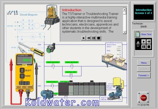 This Demo Of Electrical Troubleshooting Training Simulation