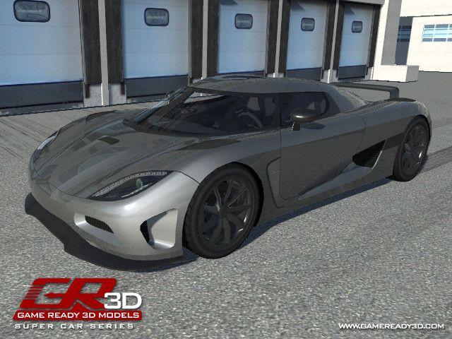 GR3D Super Car 082514SSPC | 3D Land | Unity Asset Store