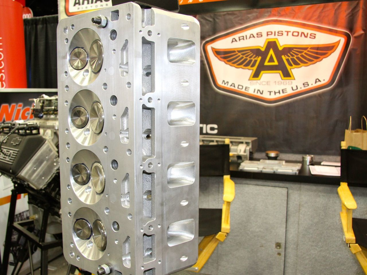 The Arias hemi designs for LS and 351W engines are starting