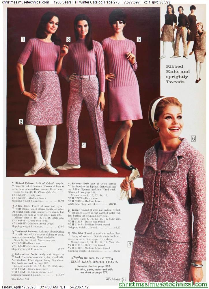 1966 Sears Fall Winter Catalog, Page 275 - Christm