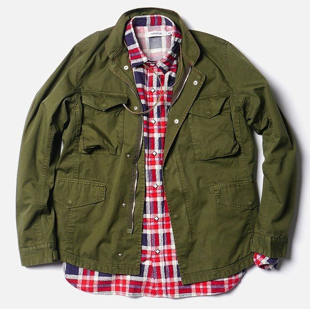 The Trooper #Jacket by #Nonnative #mensfashion #men #style #military #swag