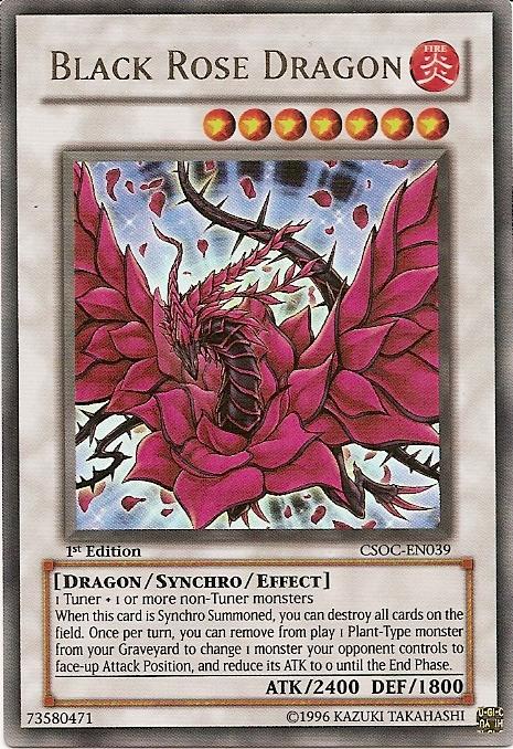Black Rose Dragon Black Rose Dragon Yugioh Dragon Cards Yugioh