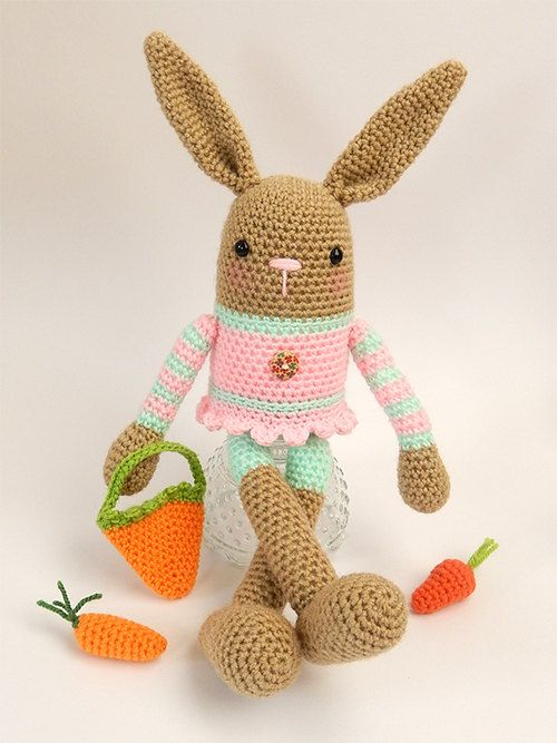 Billy and Betty Bunny by mojimojidesign on Etsy