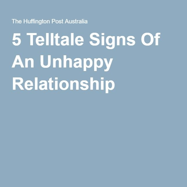 an relationship to Returning unhappy
