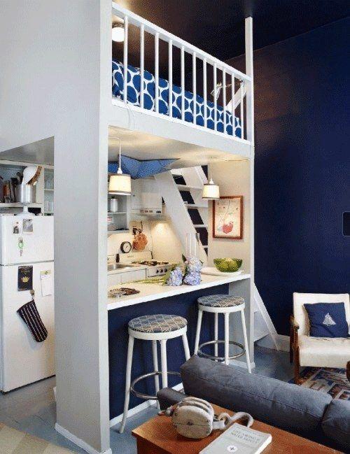 31 astuces pour maximiser l 39 espace dans un petit logement tiny house pinterest petite. Black Bedroom Furniture Sets. Home Design Ideas