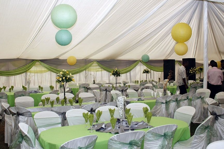 Garden Wedding Reception Decoration Ideas