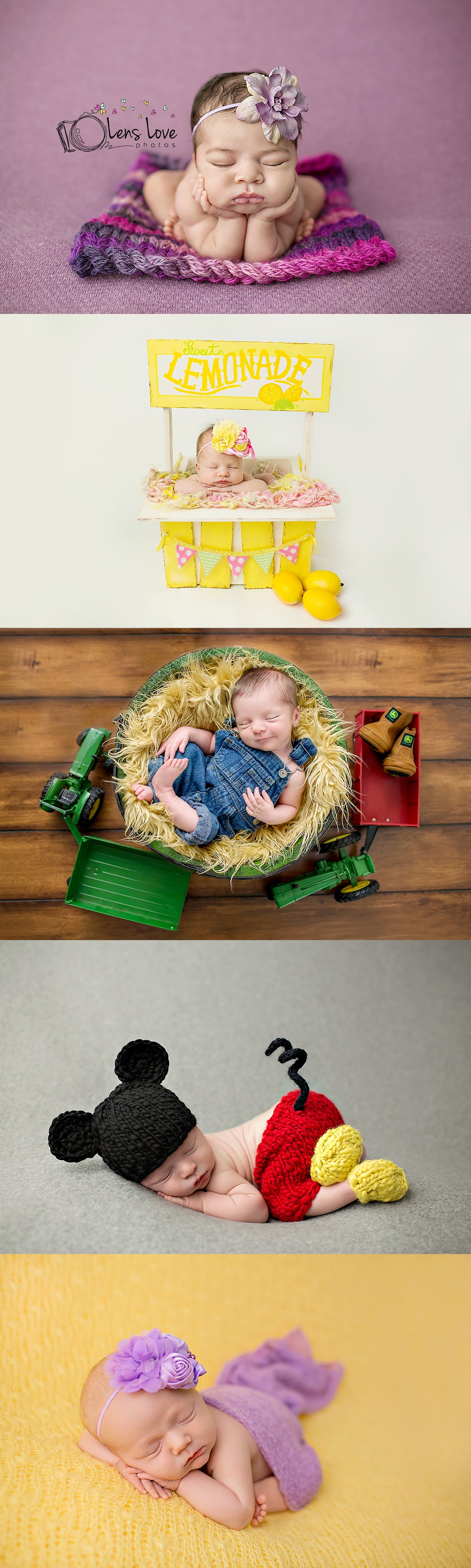Adorable Baby Props Photography by Lisa Johnson.