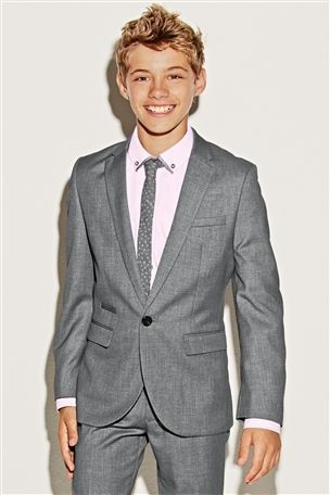 Buy Grey Suit Jacket (12mths-16yrs) from the Next UK online shop ...