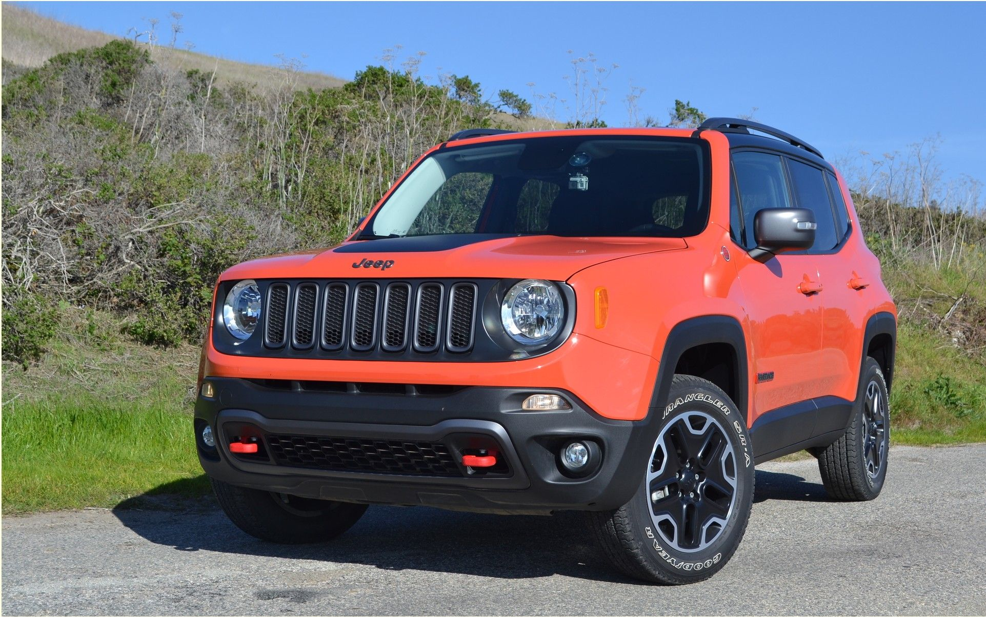 Jeep Renegade 2016 The overqualified Telefon arka planları
