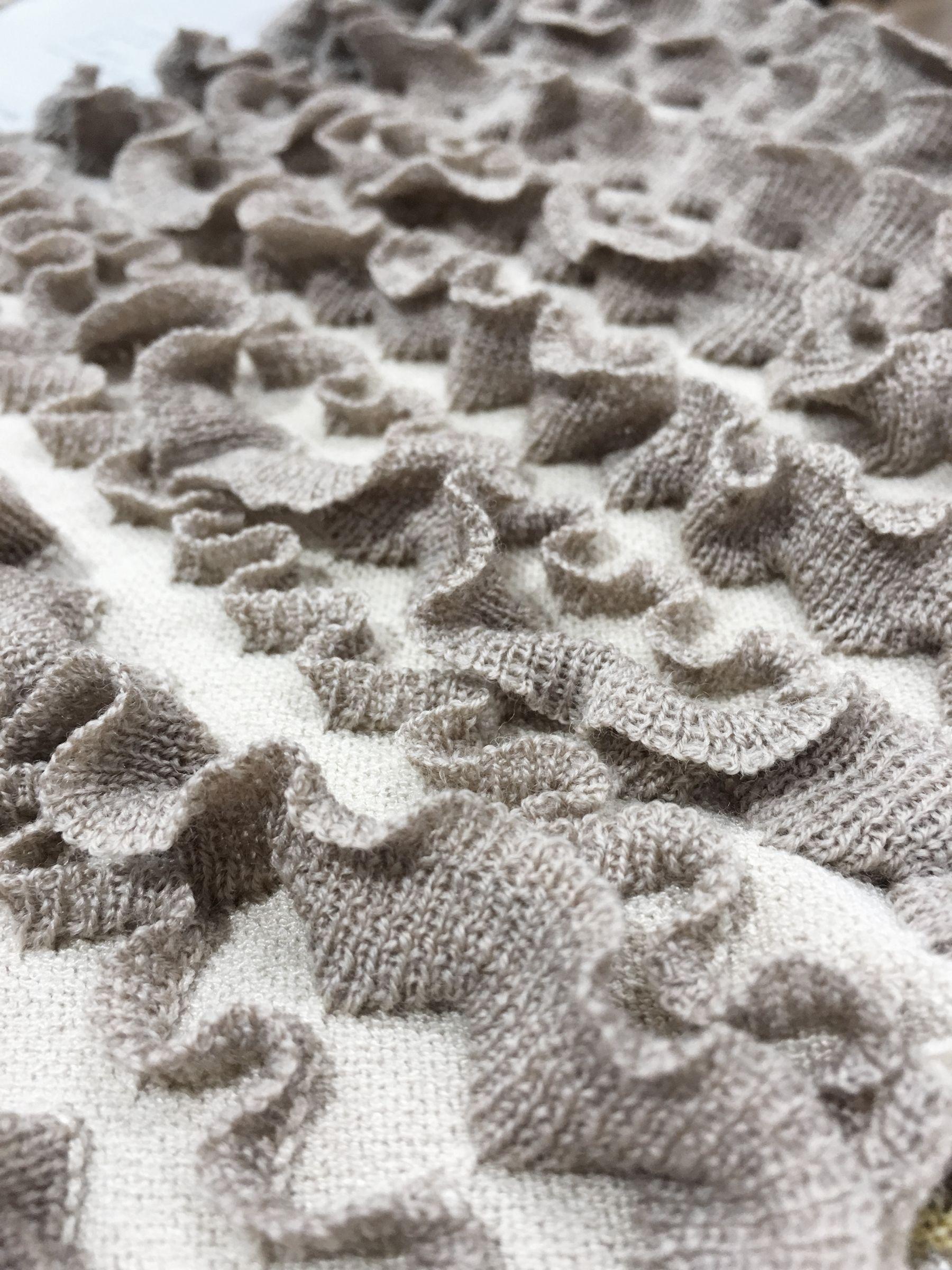 Pattern Texture Ruffle
