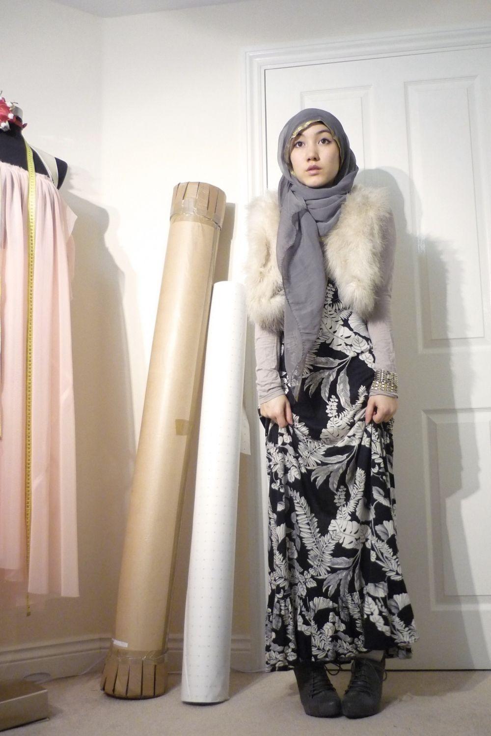 Hijab outfit muslimah fashion my style pinterest hijab outfit