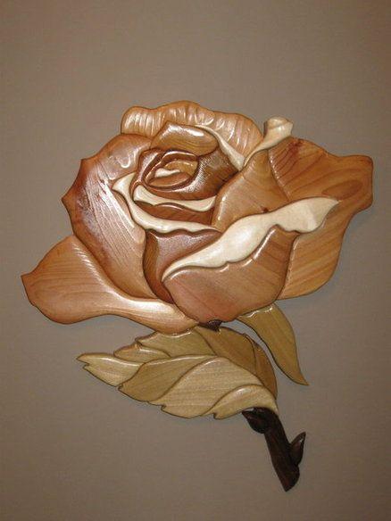 автор резьба по дереву роза картинки система получила