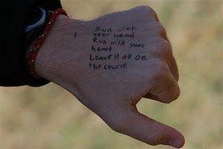 My new running mantra... possible running tatt?