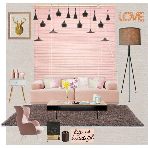 A home decor collage from March 2015 featuring modular furniture ...