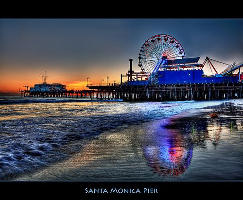 The Santa Monica Pier: Still Hip at 100 #favoriteplaces