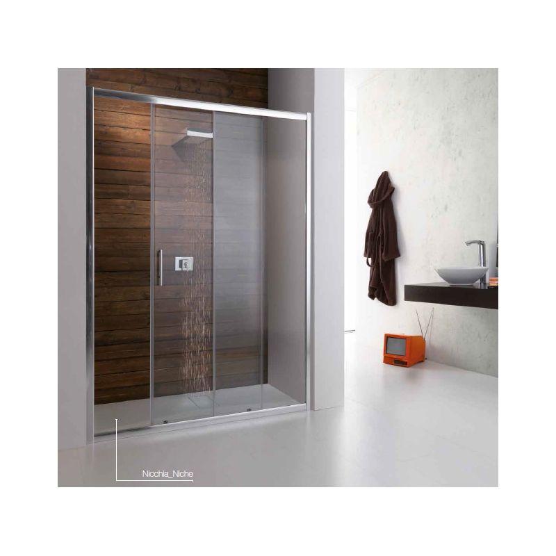 Box doccia TAMANACO a nicchia reinterpretano il mondo del bagno ...