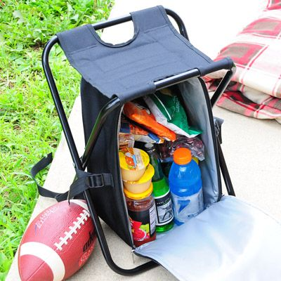 chair cooler! perfect for long hikes