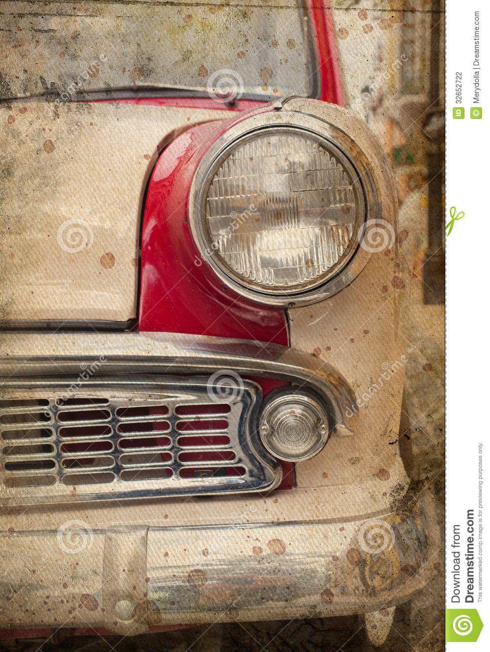 Retro Car Headlight Stock Photography Image 32652722 Retro Cars Car Headlights Retro Retro vintage red car headlight hd
