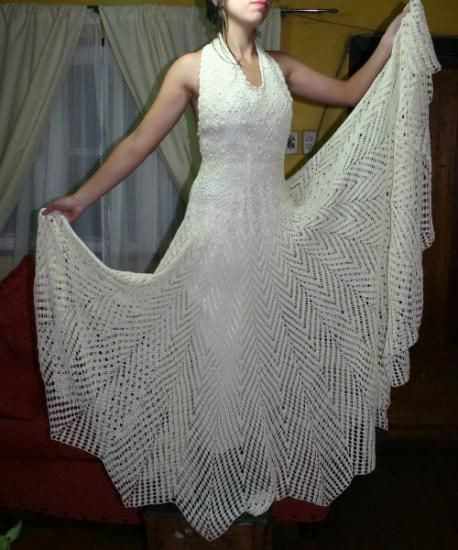 Imagenes de vestidos de novia tejidos