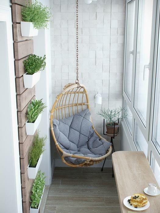 Beautiful Small Balcony Hammock