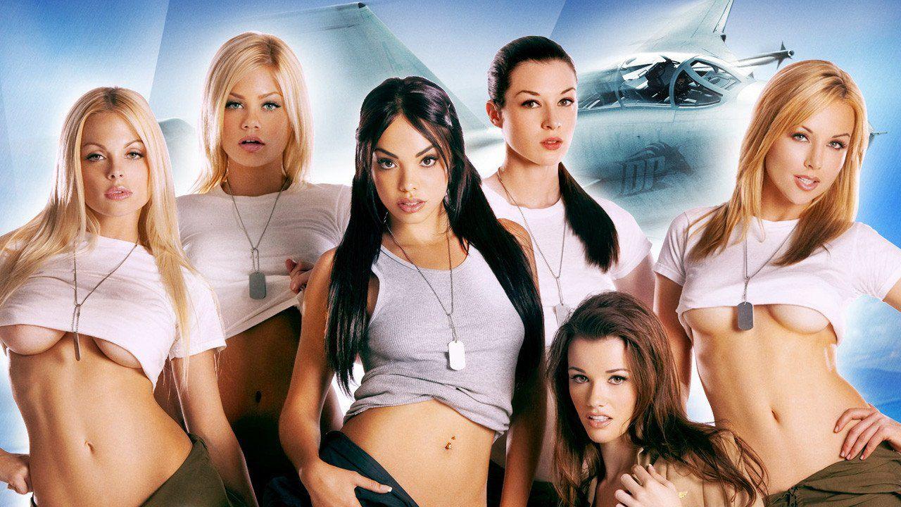 Top Guns Jesse Jane Riley Steele Selena Rose Stoya Kayden Kross And
