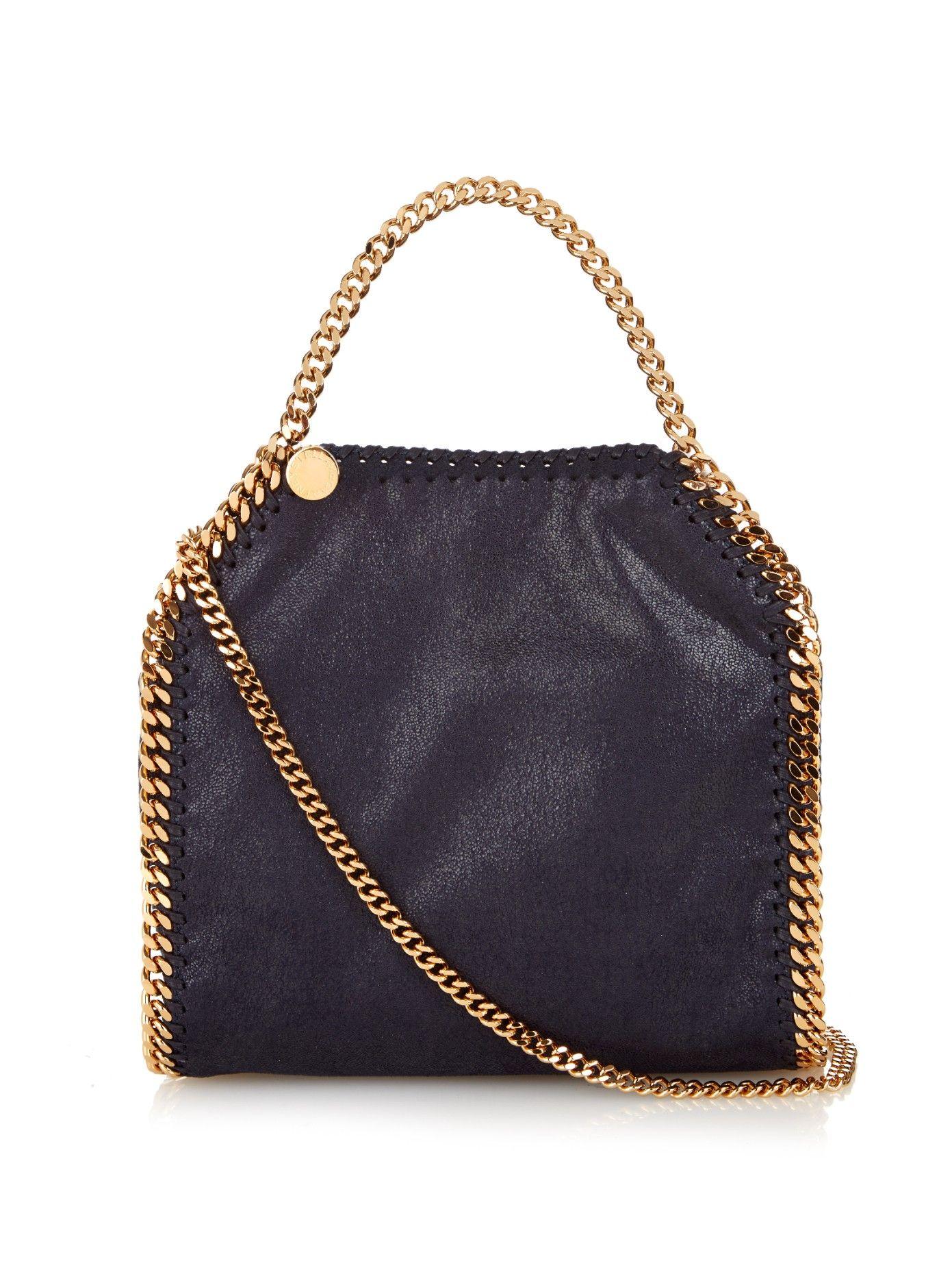 Mini Bella mini faux suede cross-body bag by Stella McCartney | Shop now at #MATCHESFASHION.COM