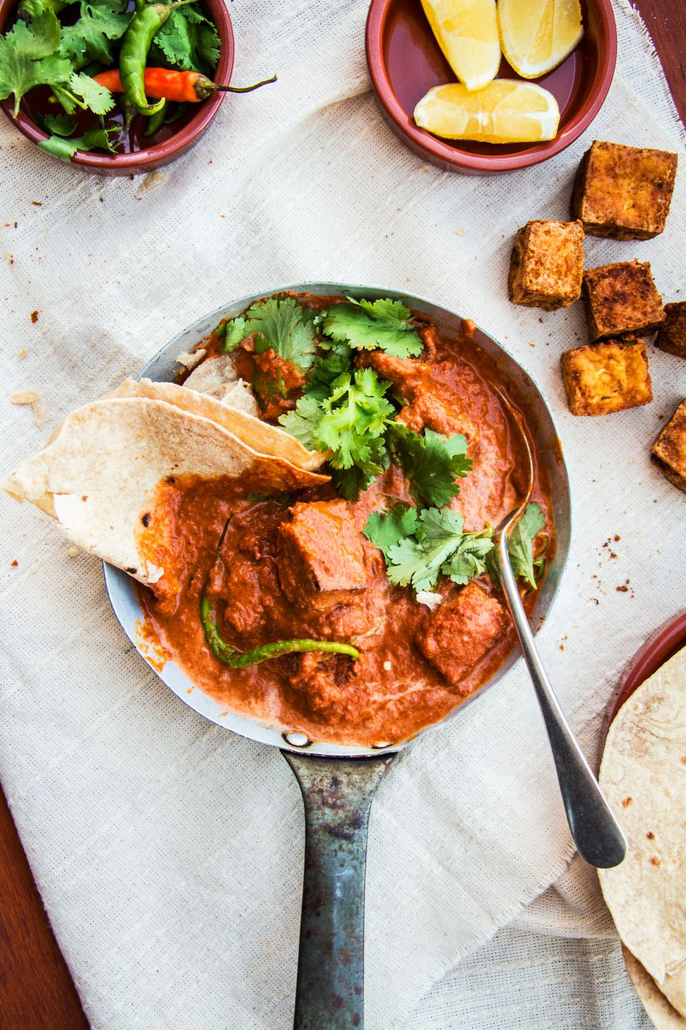 Tofu Tikka Masala V Df Gf I Would Prolly Bake Or Dry Fry
