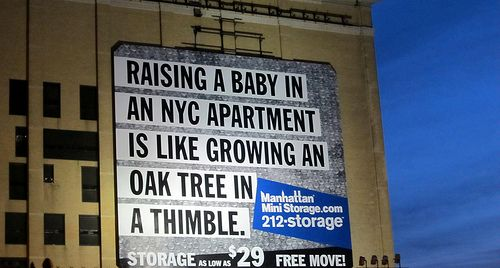 Raising A Baby In Nyc Apartment Is Like Growing An Oak Tree Thimble