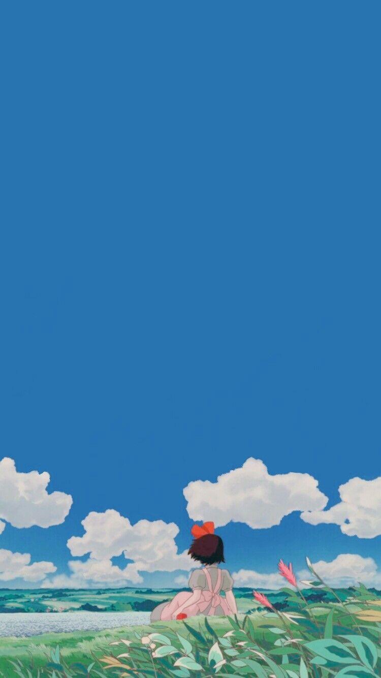 [아이폰 배경화면] #23 캐릭터 테마 :: 지브리 마녀배달부 키키