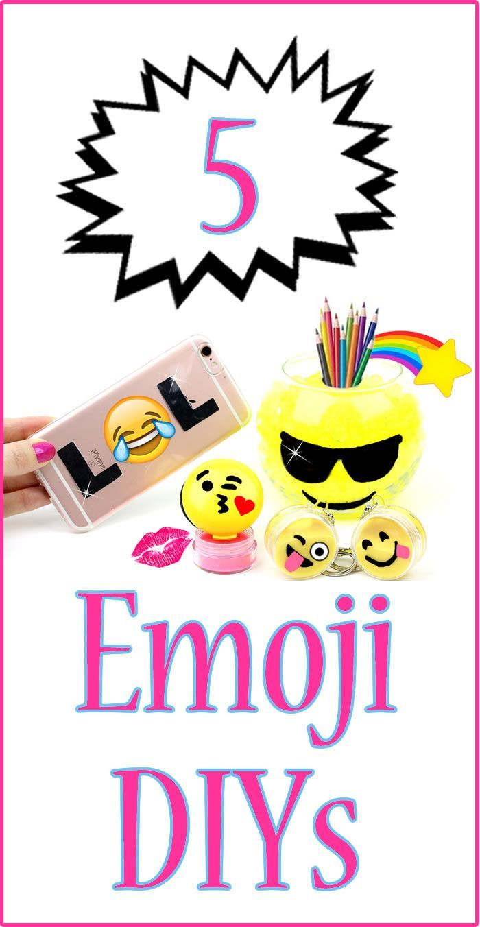 diy emoji projects you need to try phone case lip balm mini