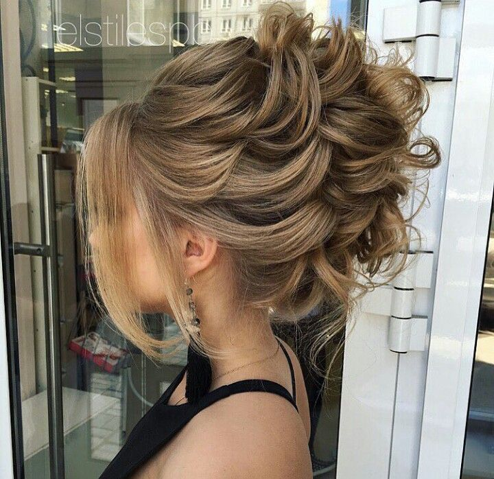 Prom Hairstyles Updos Pinyessica Smith On Peinados  Pinterest  Hair Style Updos And