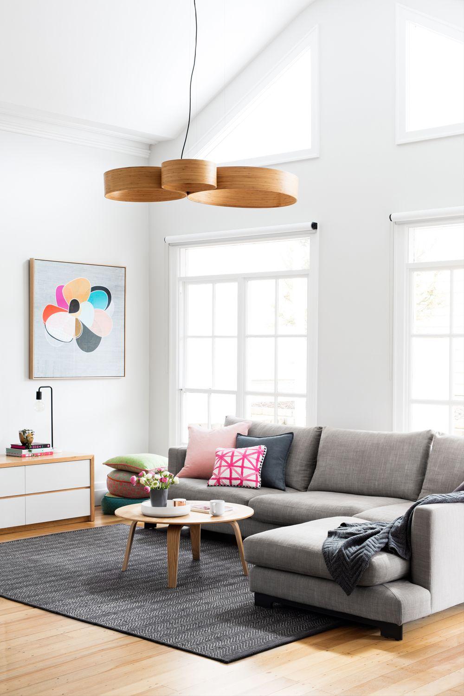 A Self-Designed Multi-Colored Australian Home   Couchtische ...