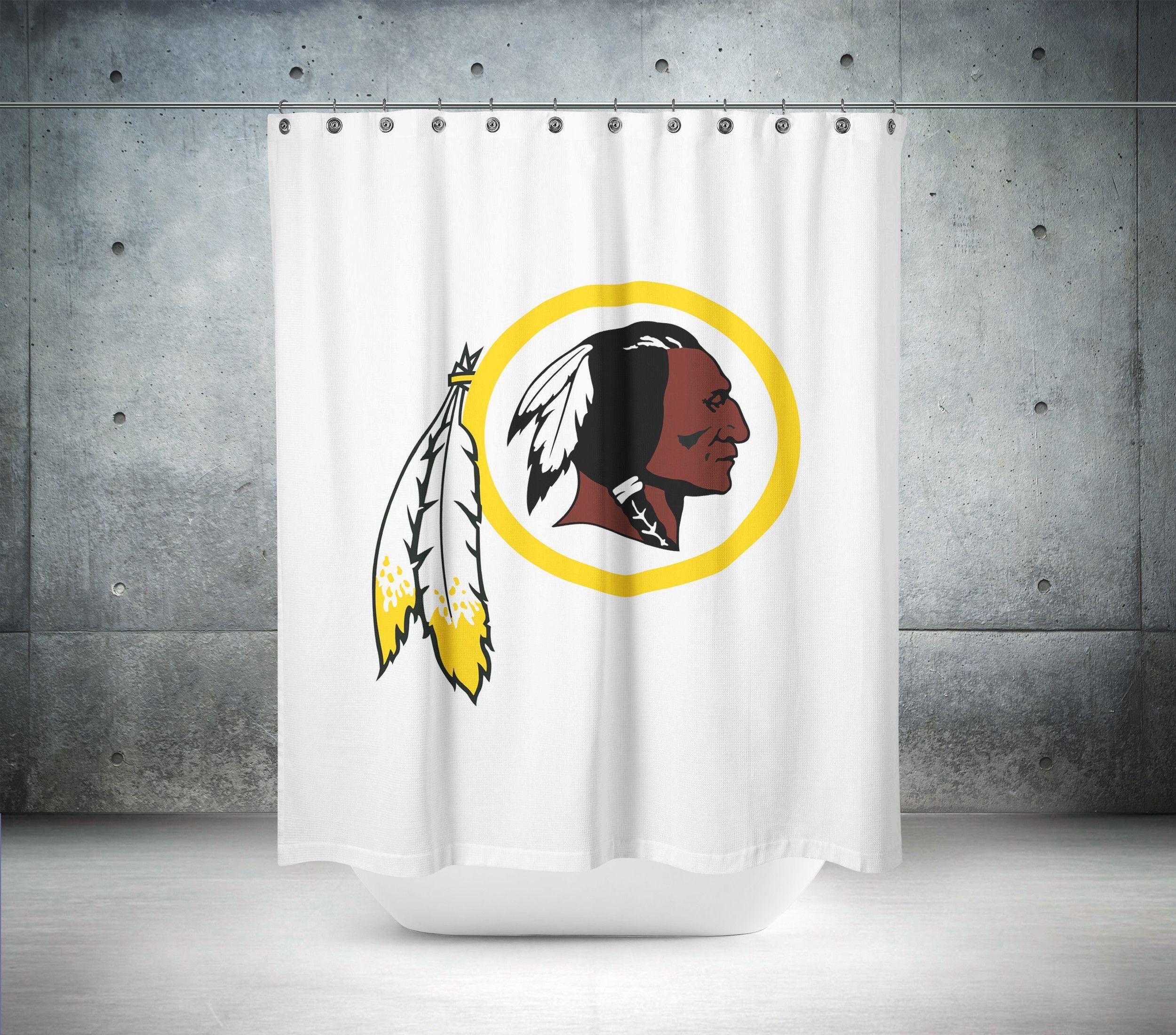 Washington Redskins NFL Shower Curtain