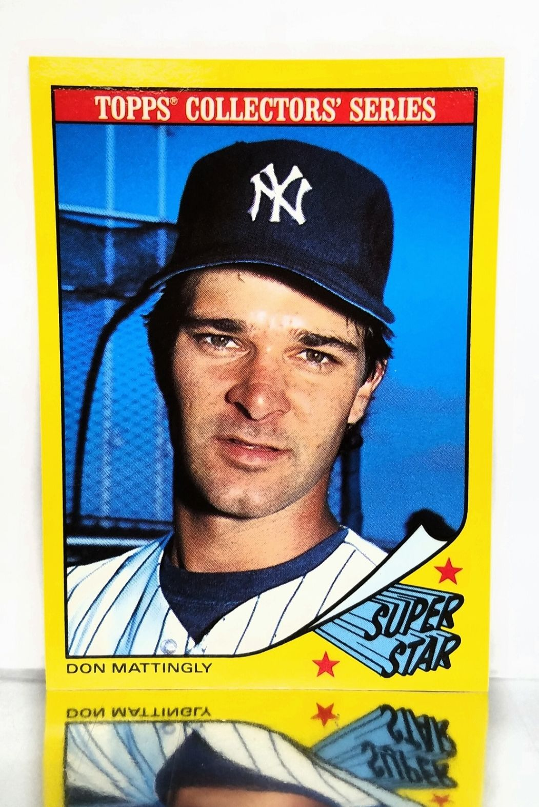 1986 topps superstar 20 don mattingly new york yankees
