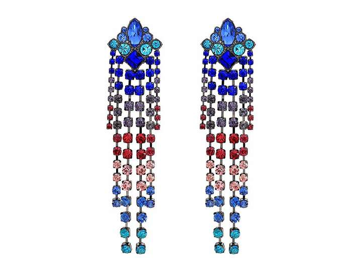 e4c394fbf Gemma Crystal Fringe Earrings | Playing Dress-Up | Fringe earrings, Earrings,  Crystals