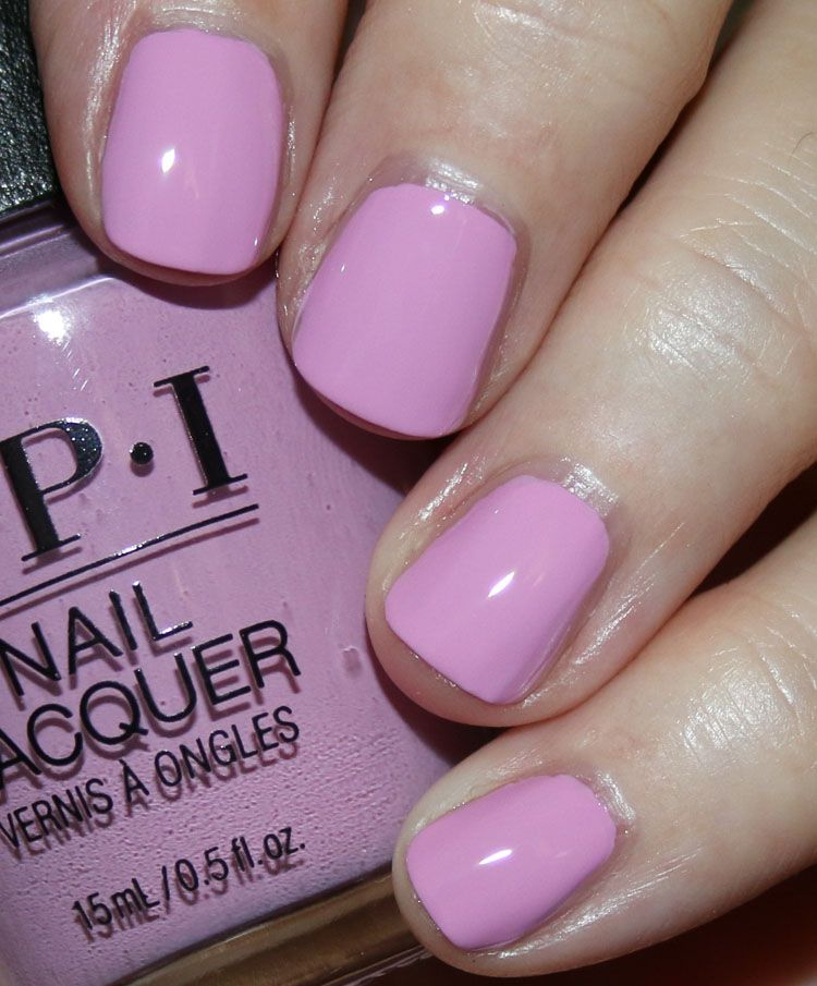 Opi The Nutcracker And The Four Realms Opi Lavendare To Find Courage Is A Light Pinkish Lavender Creme Nail Polish Swatch Manicure Nail Polish Nails Lavender Nail Polish