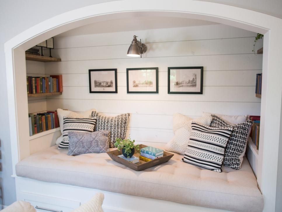 Fixer Upper California Dreamin In The Waco Texas Suburbs Reading Nook