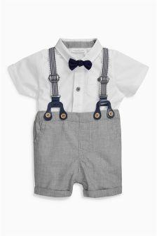 0221040b17 Shorts und Hosenträger im Set