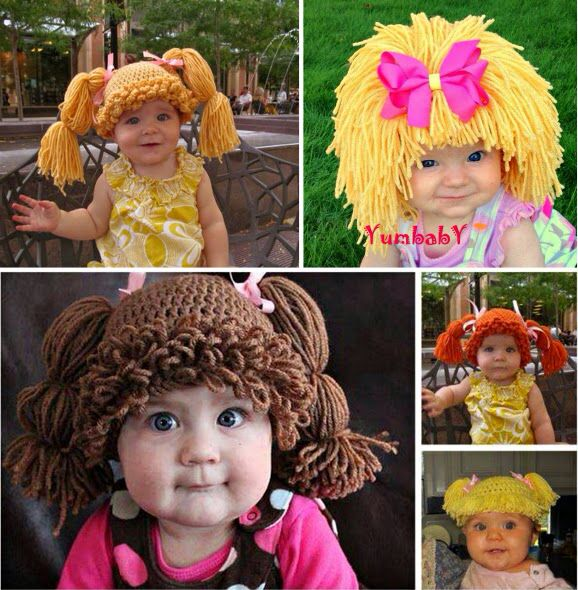 Cabbage patch kids hat | Hats, Mittens, and Scarves | Pinterest