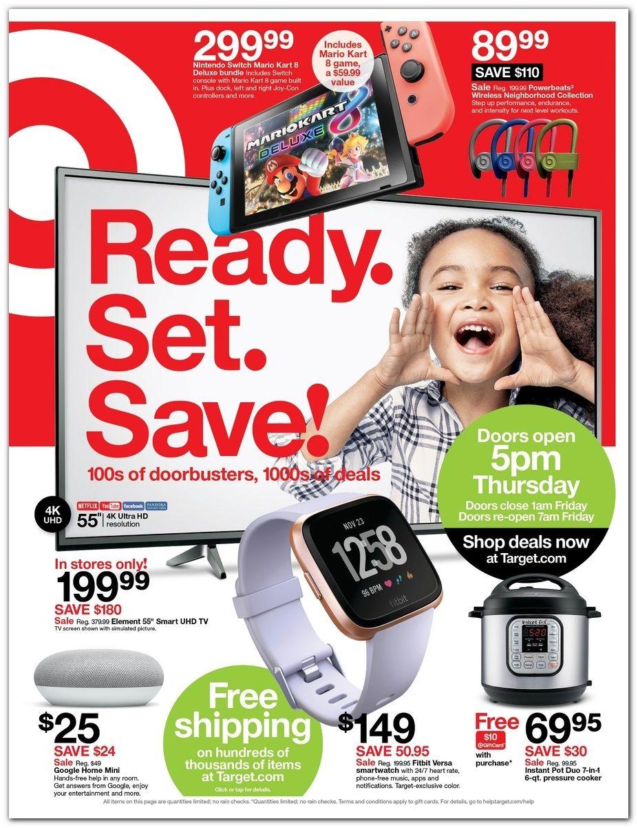 Target Black Friday Page 1 Black Friday Target Black Friday Ads Black Friday
