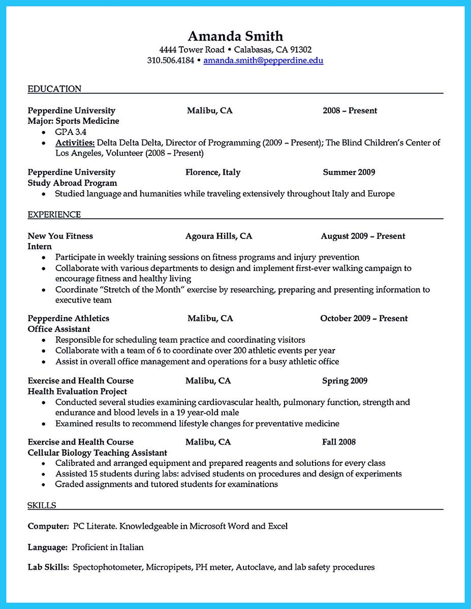 To Write An Athletic Director Resume Is Not Too Different From Other Resumes At The