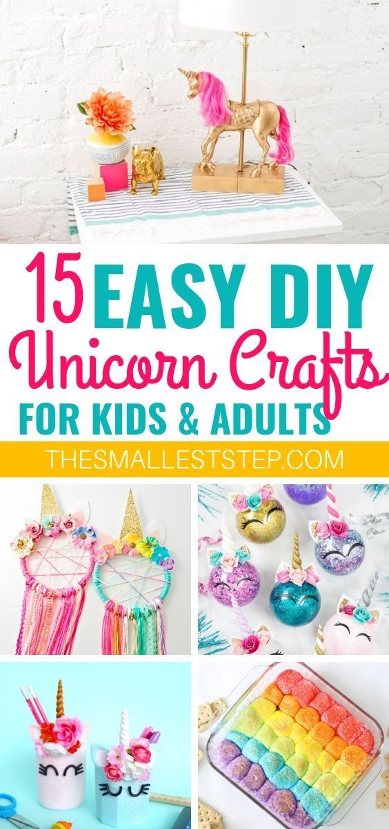 23 Easy DIY Unicorn Crafts That Are Magical #unicorncrafts