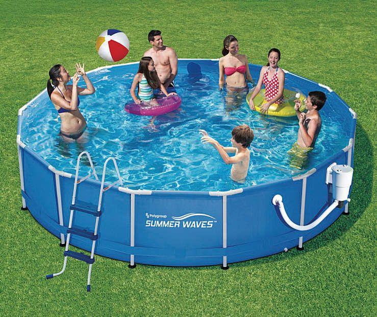 Summer Waves Metal Frame Pool 14 X 36 Summer Waves Pool Wave Pool