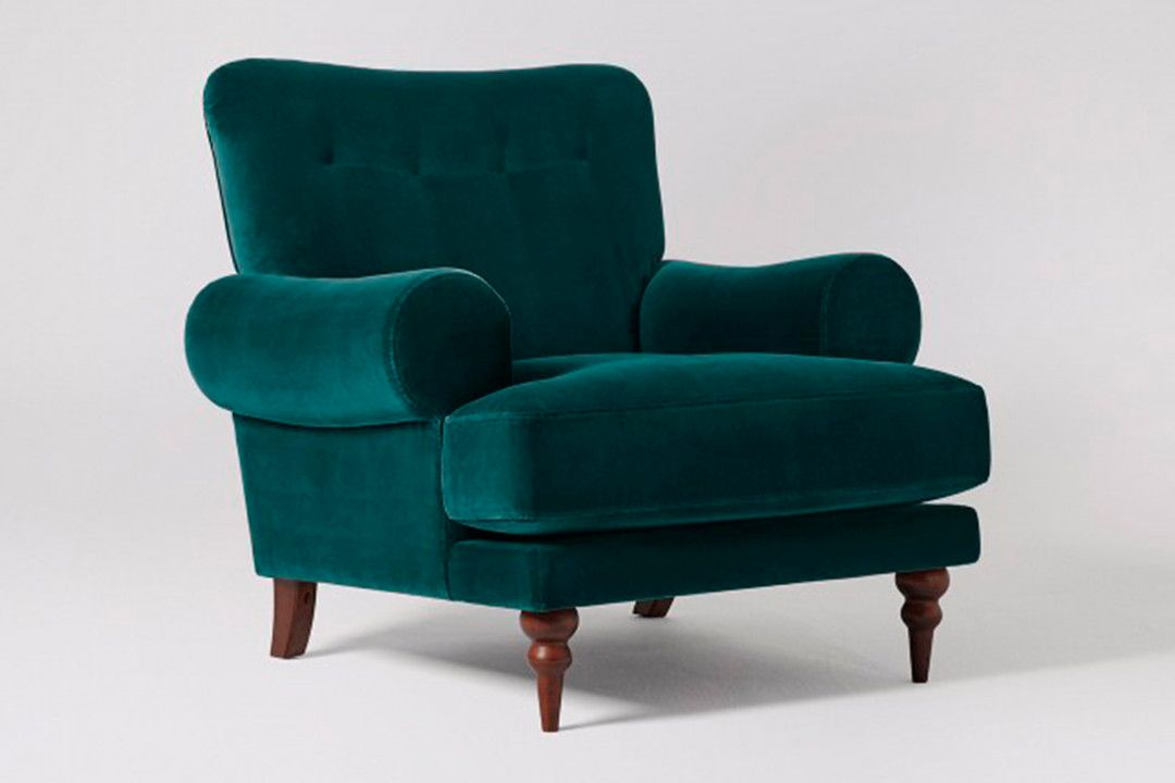 Best Blue Green Accent Chair Best Way To Paint Furniture 400 x 300